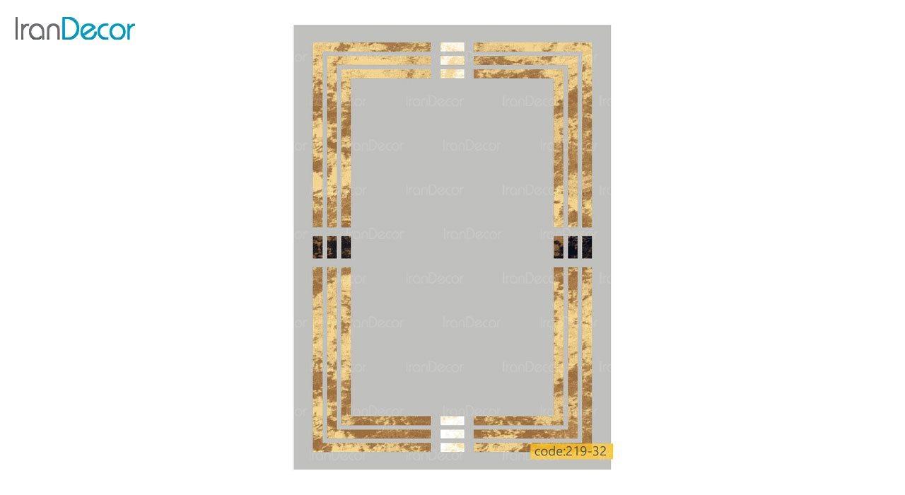 تصویر فرش مدرن برنتین طرح یونیک مدل 219-32