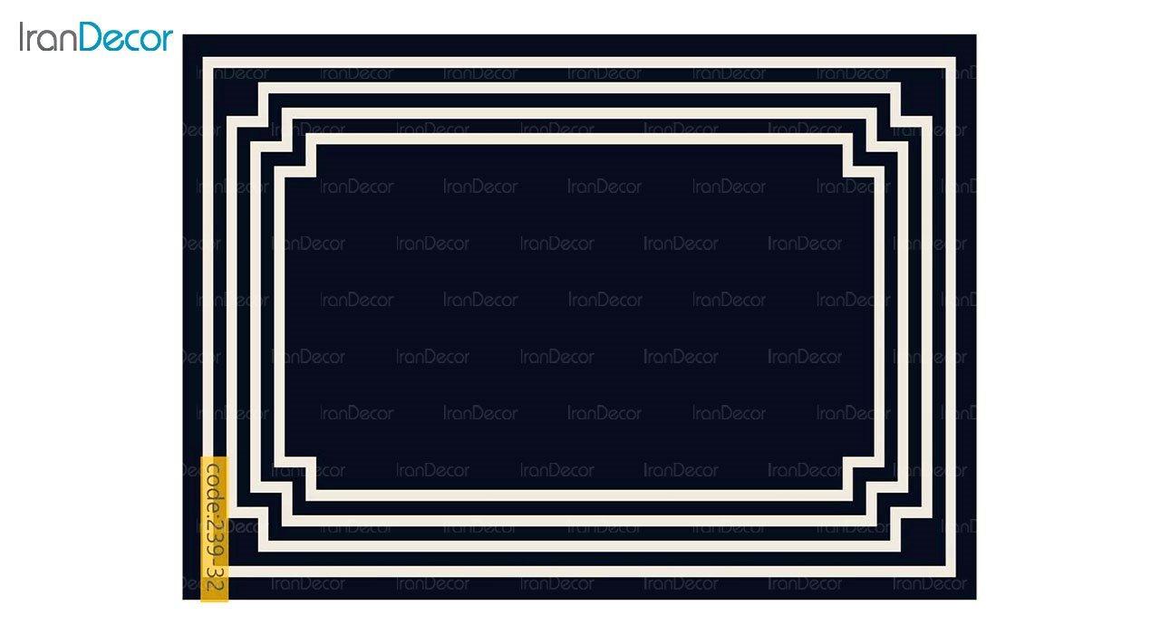 تصویر فرش مدرن برنتین طرح یونیک مدل 239-32