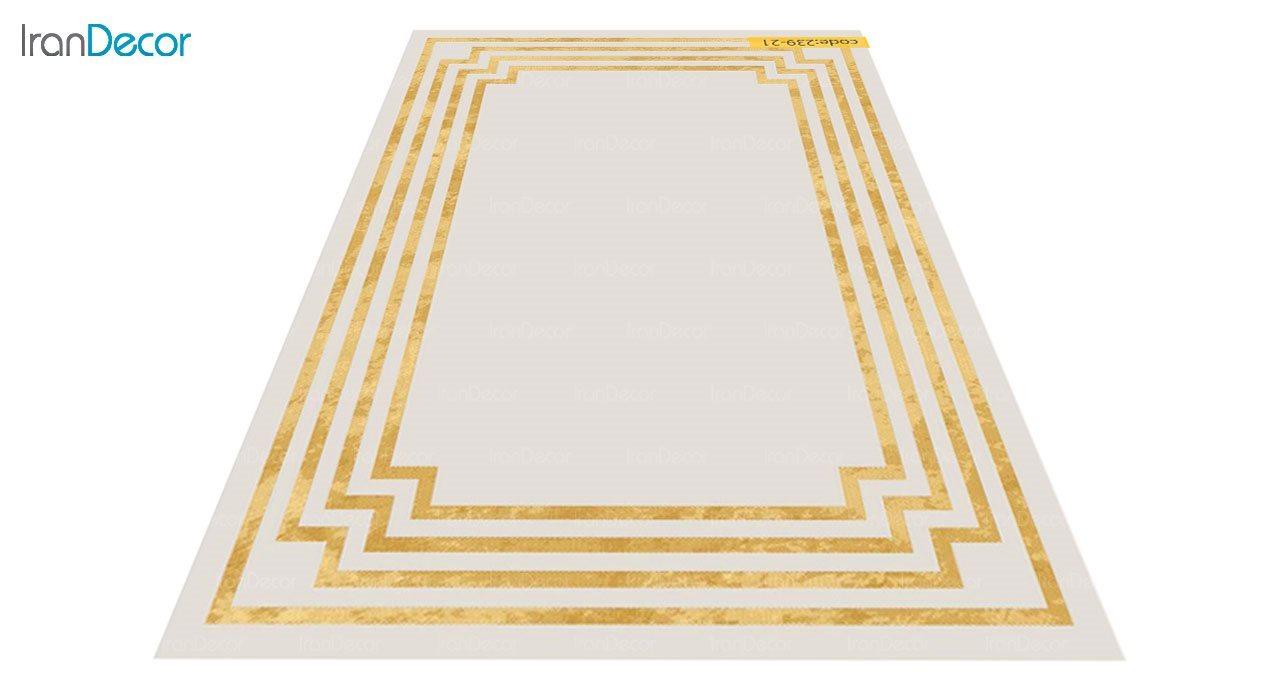 عکس فرش مدرن برنتین طرح یونیک مدل 239-21