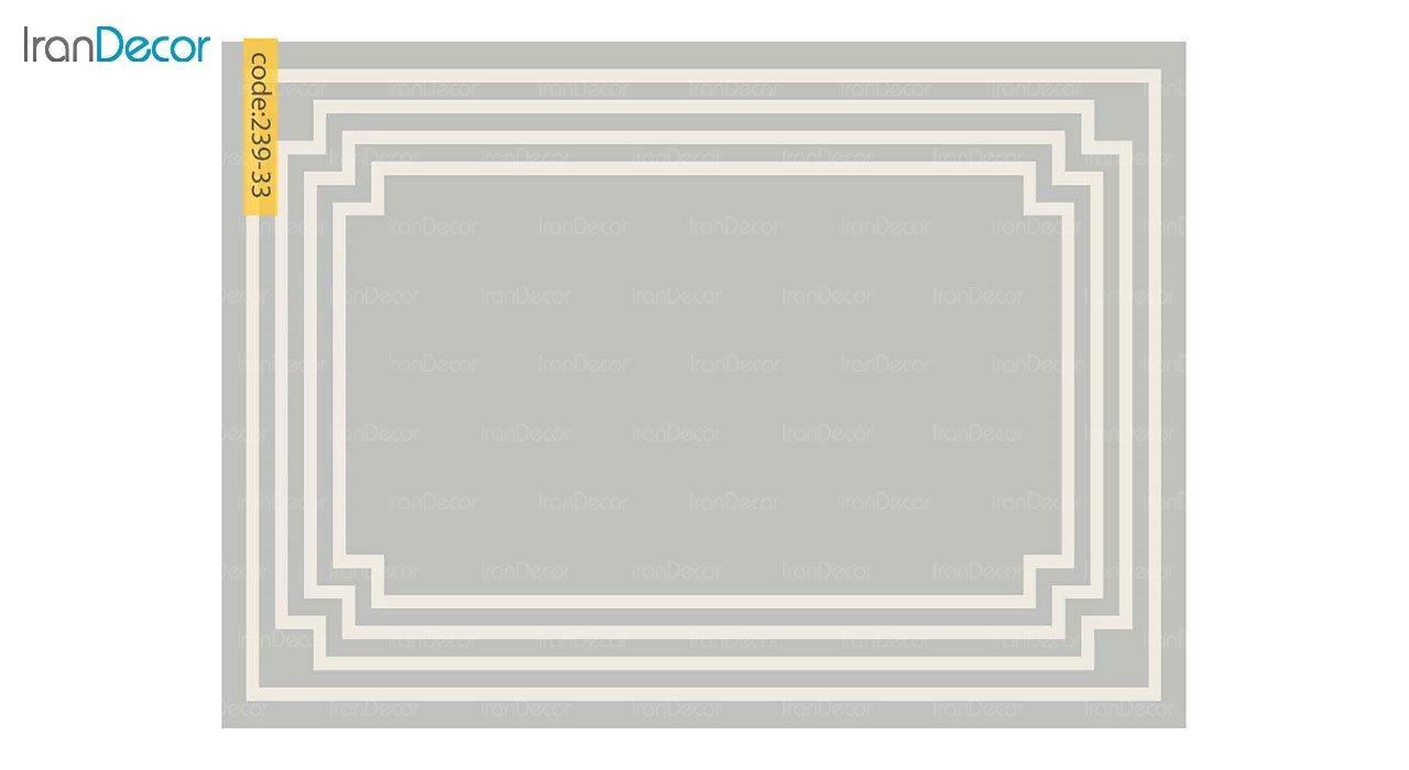 تصویر فرش مدرن برنتین طرح یونیک مدل 239-33