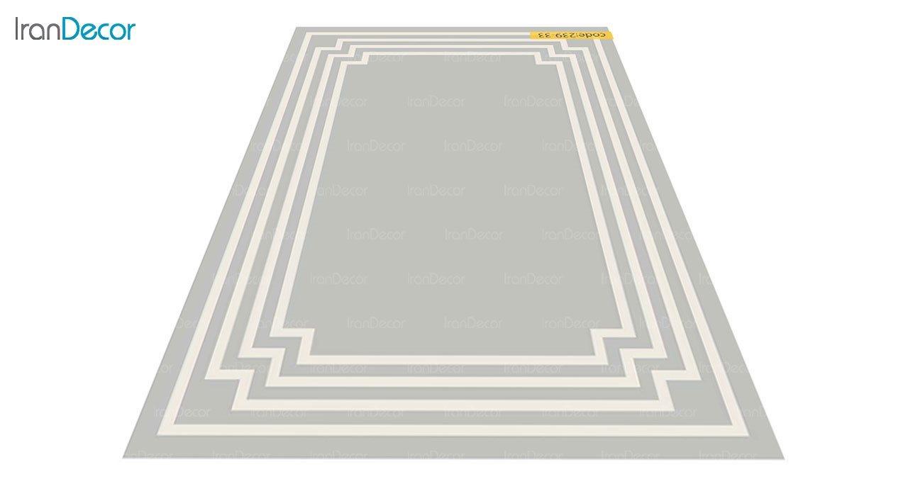 عکس فرش مدرن برنتین طرح یونیک مدل 239-33
