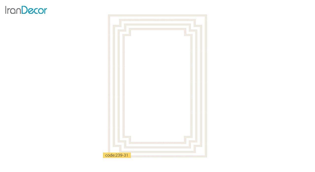 تصویر فرش مدرن برنتین طرح یونیک مدل 239-31