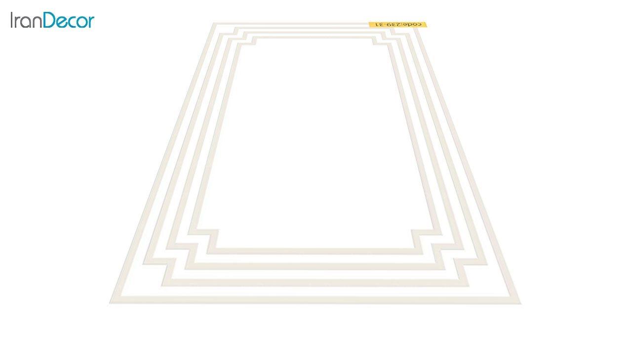 عکس فرش مدرن برنتین طرح یونیک مدل 239-31