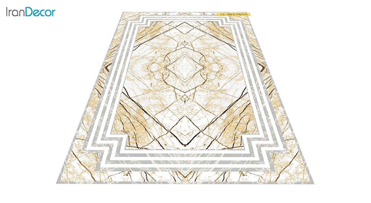 عکس فرش مدرن برنتین طرح یونیک مدل 246-31