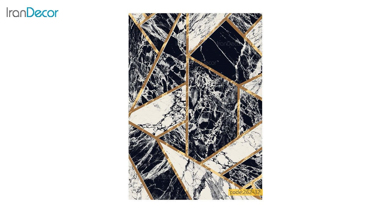 تصویر فرش مدرن برنتین طرح یونیک مدل 262-32