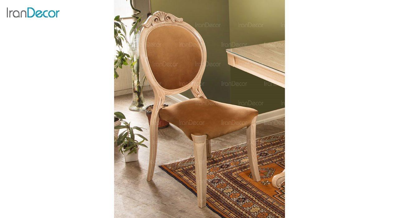 عکس صندلی ناهار خوری کلاسیک ماندگار مدل آرام