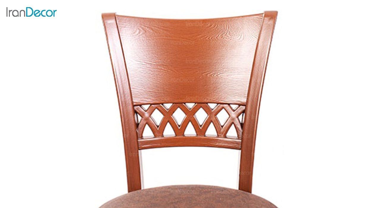 تصویر صندلی ناهار خوری کلاسیک ماندگار مدل پریا