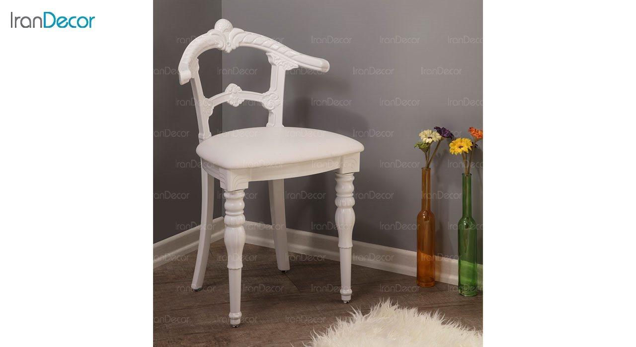 عکس صندلی ناهار خوری کلاسیک ماندگار مدل تکتا