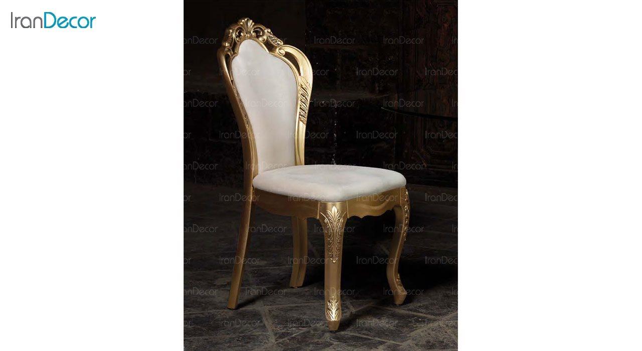 تصویر صندلی ناهار خوری سلطنتی ماندگار مدل رجینا