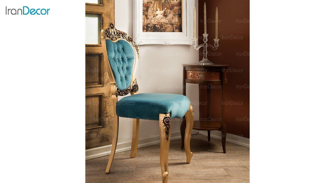 عکس صندلی ناهار خوری کلاسیک ماندگار مدل رز
