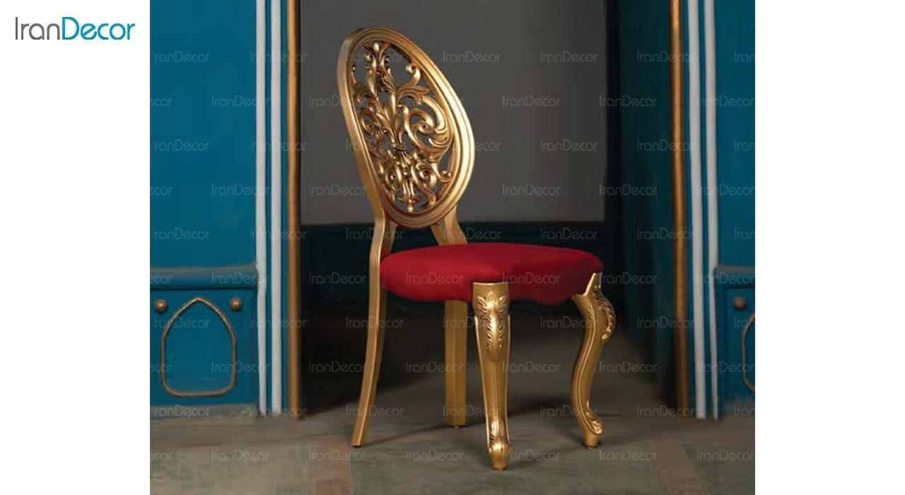 تصویر صندلی ناهار خوری سلطنتی ماندگار مدل روبینا