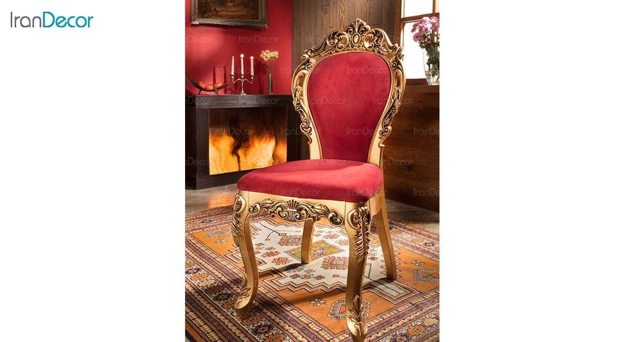 عکس صندلی ناهار خوری سلطنتی ماندگار مدل هیوا
