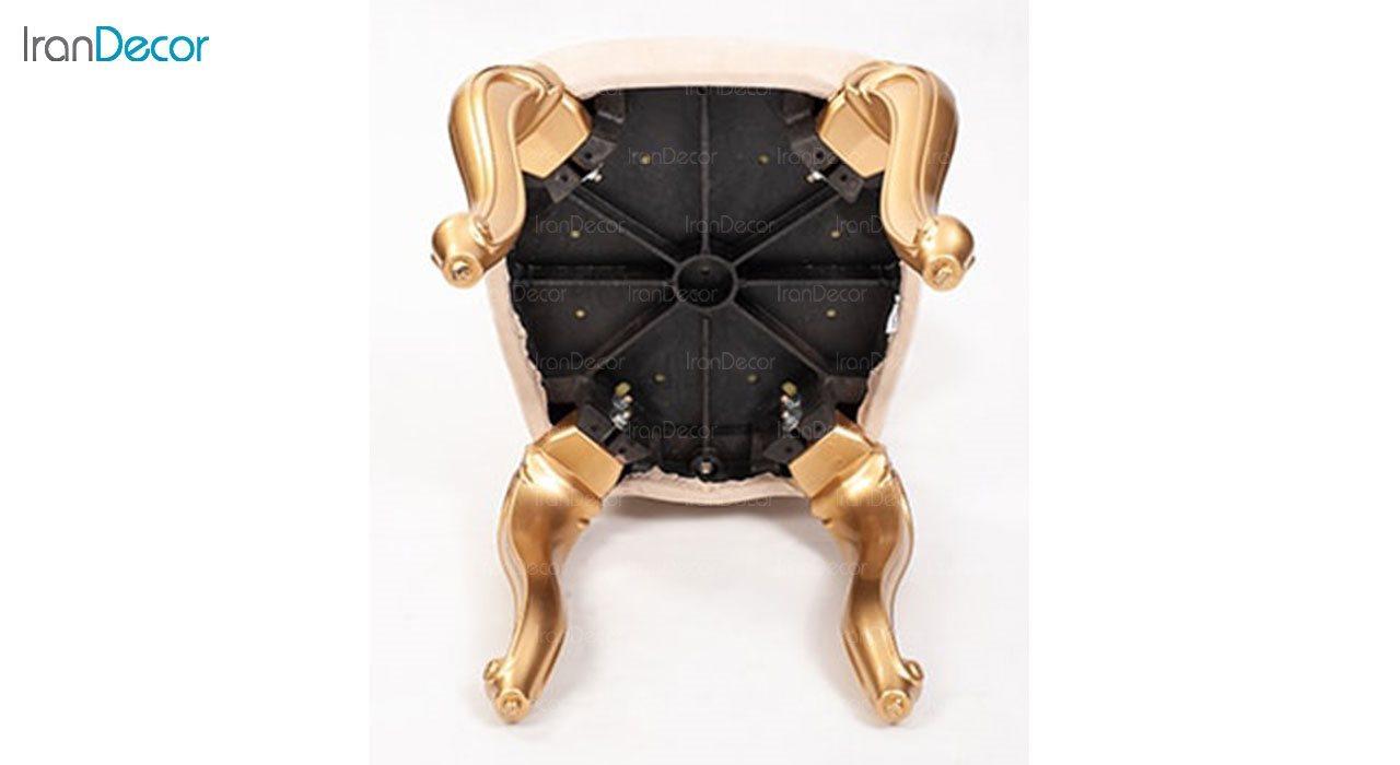 تصویر صندلی ناهار خوری سلطنتی ماندگار مدل ویکتوریا