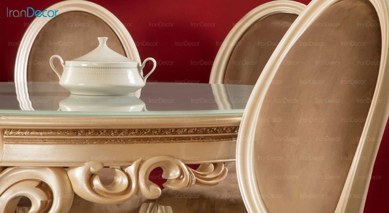 تصویر سرویس ناهار خوری کلاسیک ماندگار مدل پانیذ