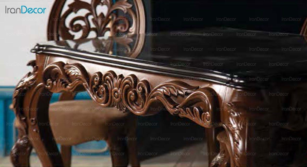 عکس سرویس ناهار خوری سلطنتی ماندگار مدل روبینا