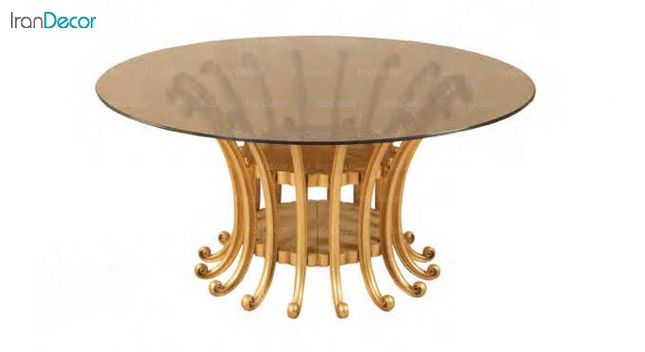 تصویر میز ناهار خوری کلاسیک ماندگار مدل النا