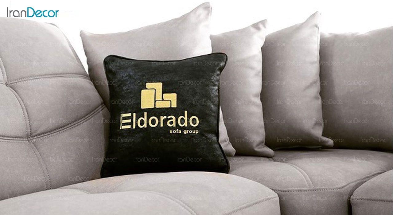 تصویر ست مبل ال راحتی الدورادو مدل مادرید