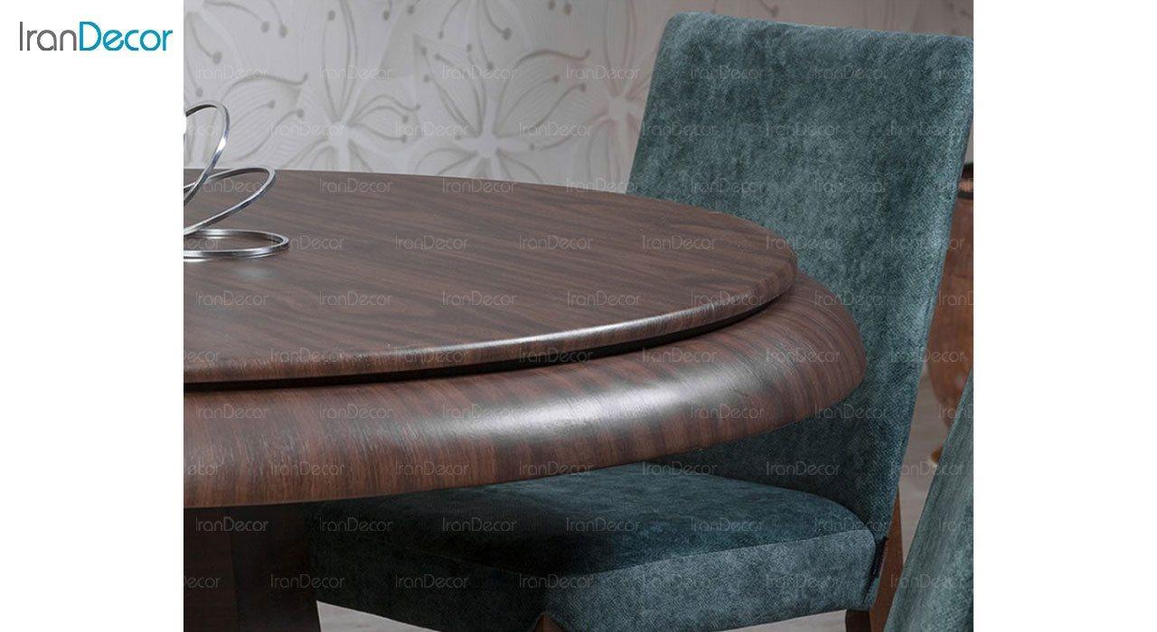 عکس سرویس صندلی و میز ناهار خوری الدورادو مدل الیزه
