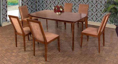 تصویر سرویس صندلی و میز ناهار خوری الدورادو مدل DT6