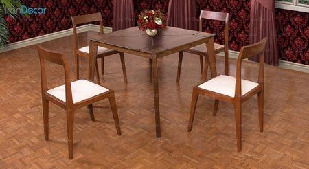 تصویر سرویس صندلی و میز ناهار خوری الدورادو مدل DT2