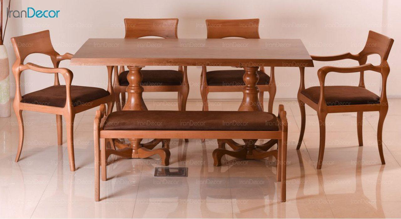 تصویر سرویس صندلی و میز ناهار خوری الدورادو مدل رژا