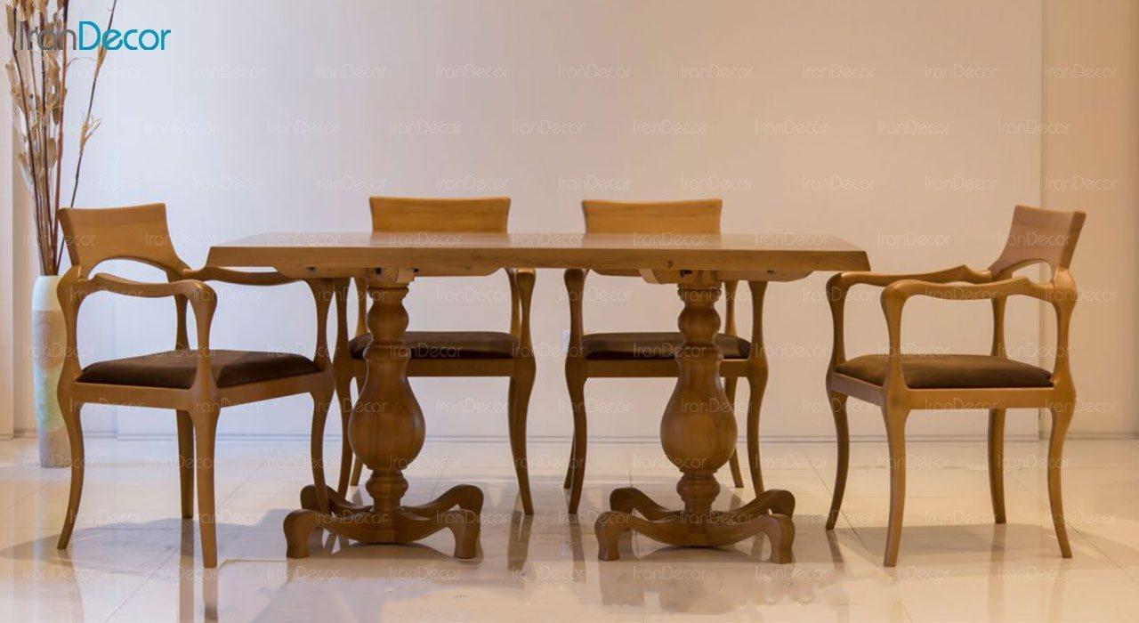 عکس سرویس صندلی و میز ناهار خوری الدورادو مدل رژا