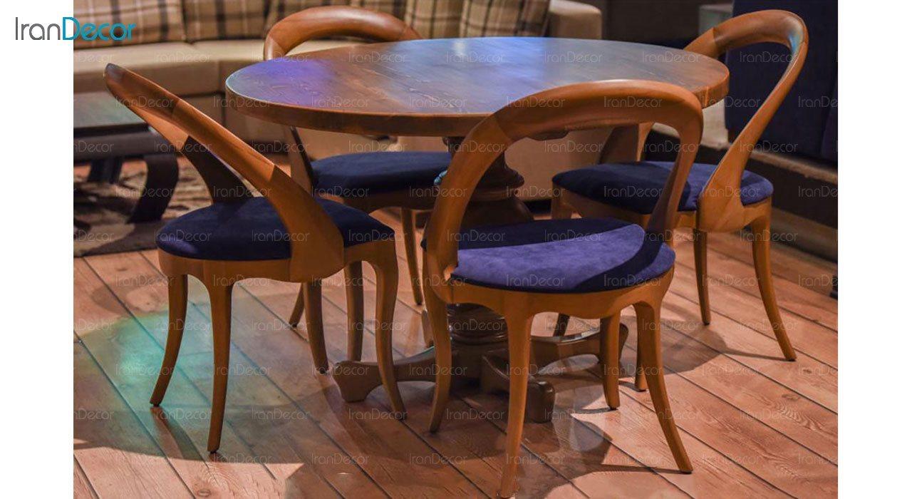 عکس سرویس صندلی و میز ناهار خوری الدورادو مدل آنجل