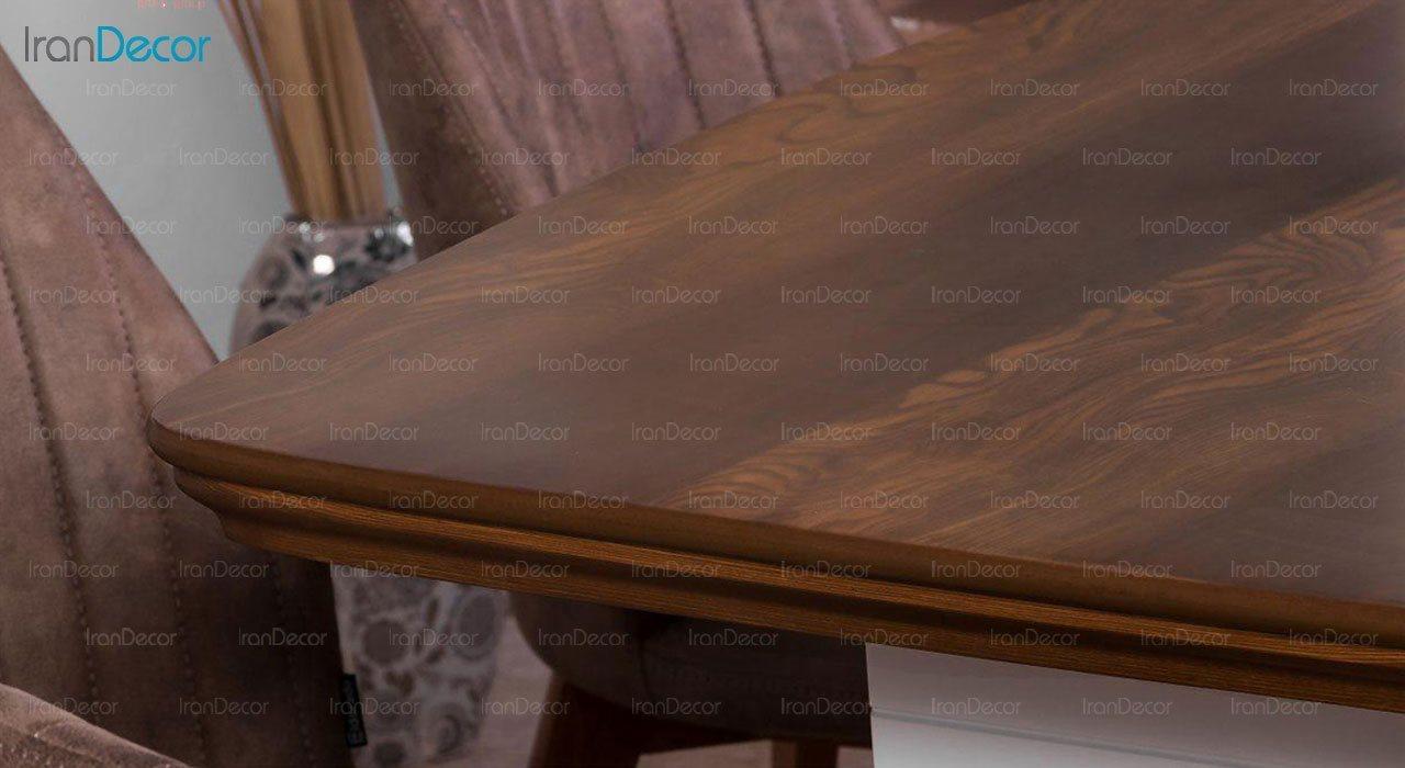 عکس سرویس میز ناهار خوری الدورادو مدل پلاتین با صندلی مانا