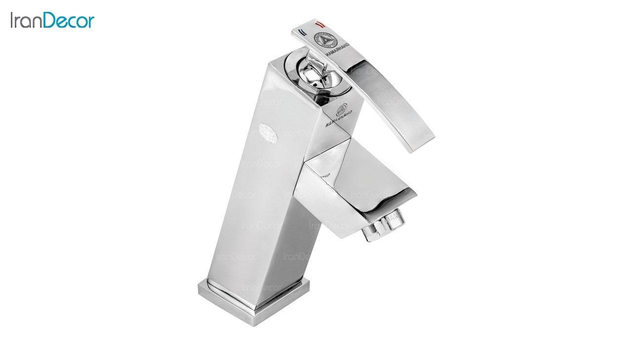 تصویر شیر روشویی اهرمی قهرمان مدل صدف کد 915-3-218