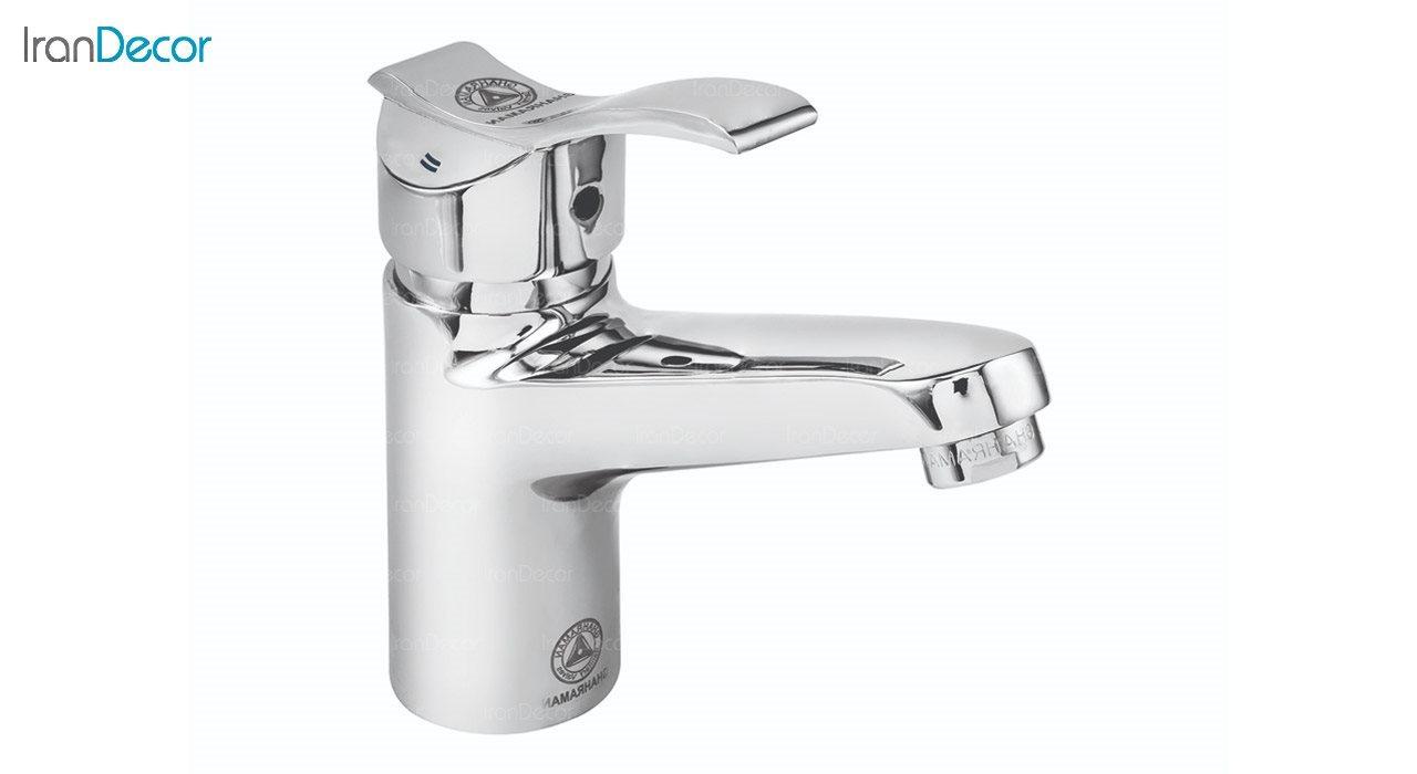 تصویر شیر روشویی اهرمی قهرمان مدل آبشار 1 کد 907-3-217