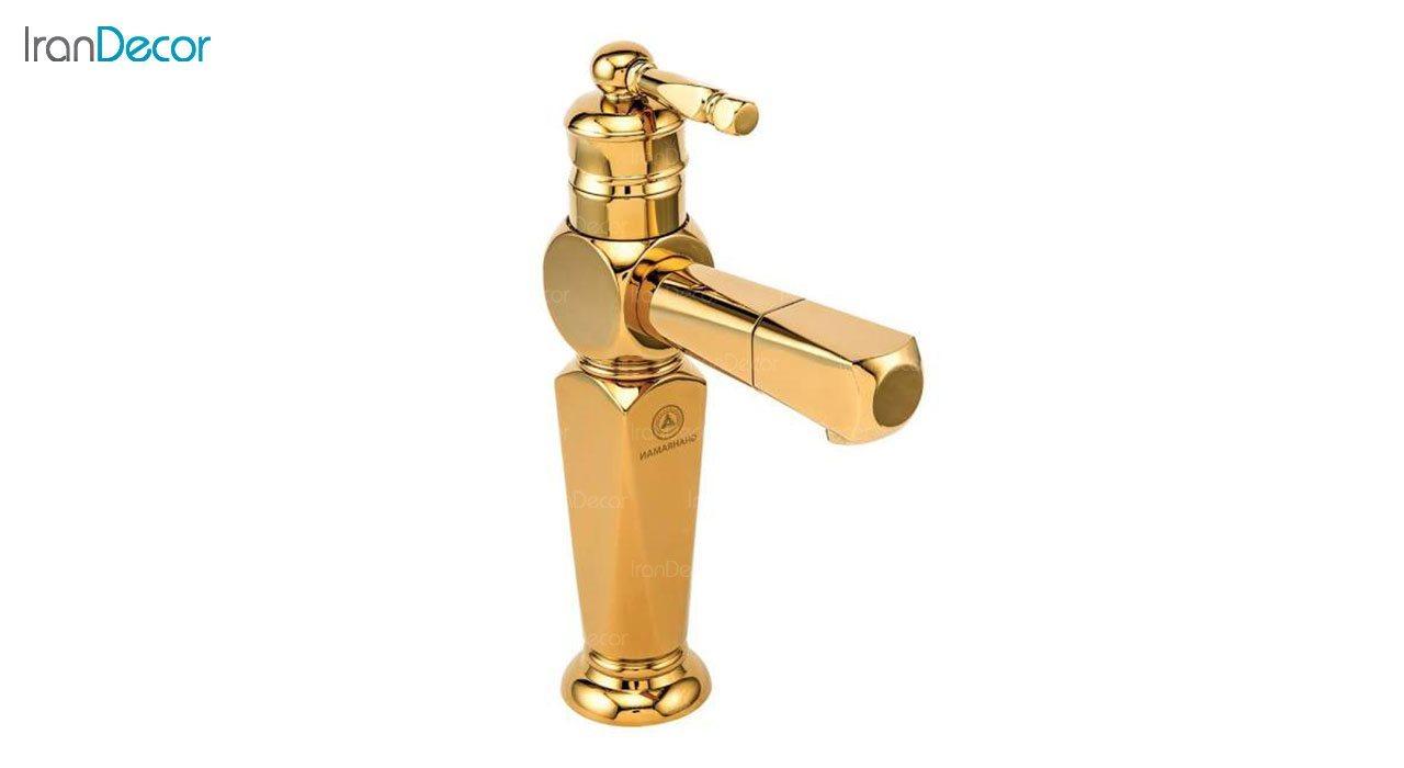 تصویر شیر روشویی اهرمی قهرمان مدل ارس کد 1000-3-230