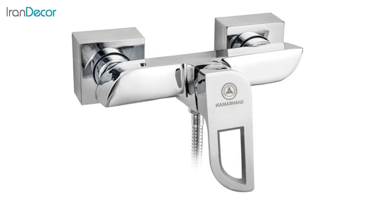 تصویر شیر توالت اهرمی قهرمان مدل موج کد 1001-4-231