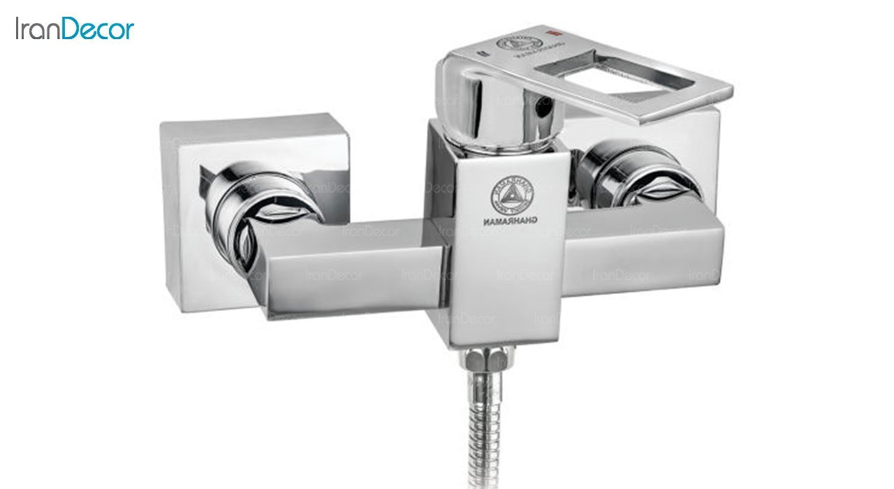 تصویر شیر توالت اهرمی قهرمان مدل فلت کد 998-4-211