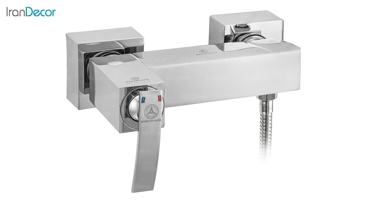 تصویر شیر توالت اهرمی قهرمان مدل صدف کد 915-4-218