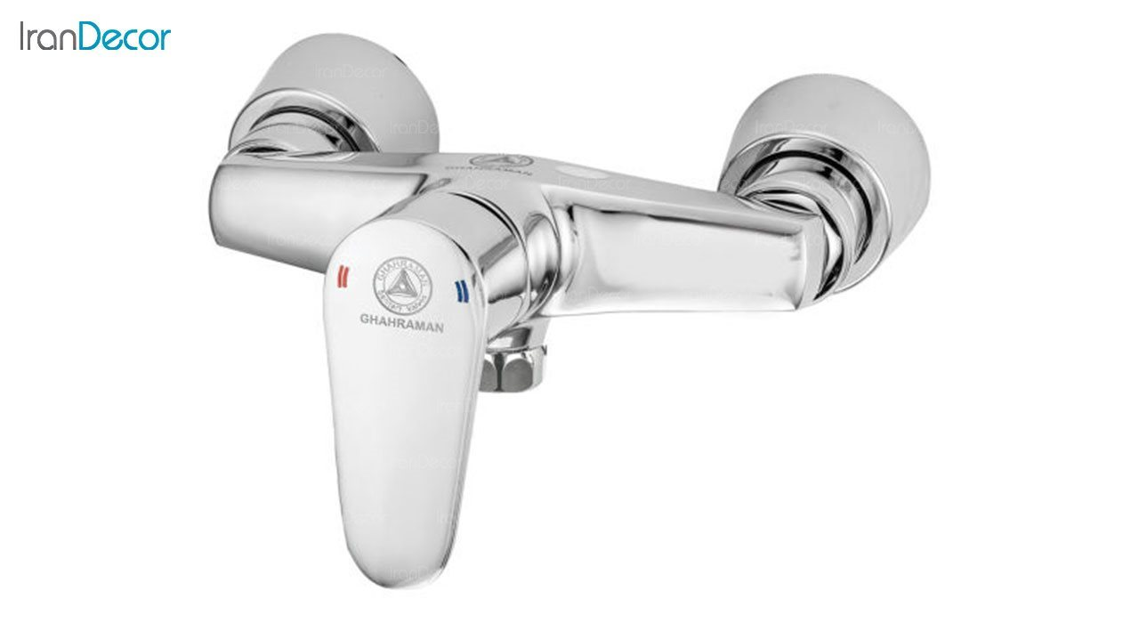 تصویر شیر توالت اهرمی قهرمان مدل سهند کد 1004-5/4-233