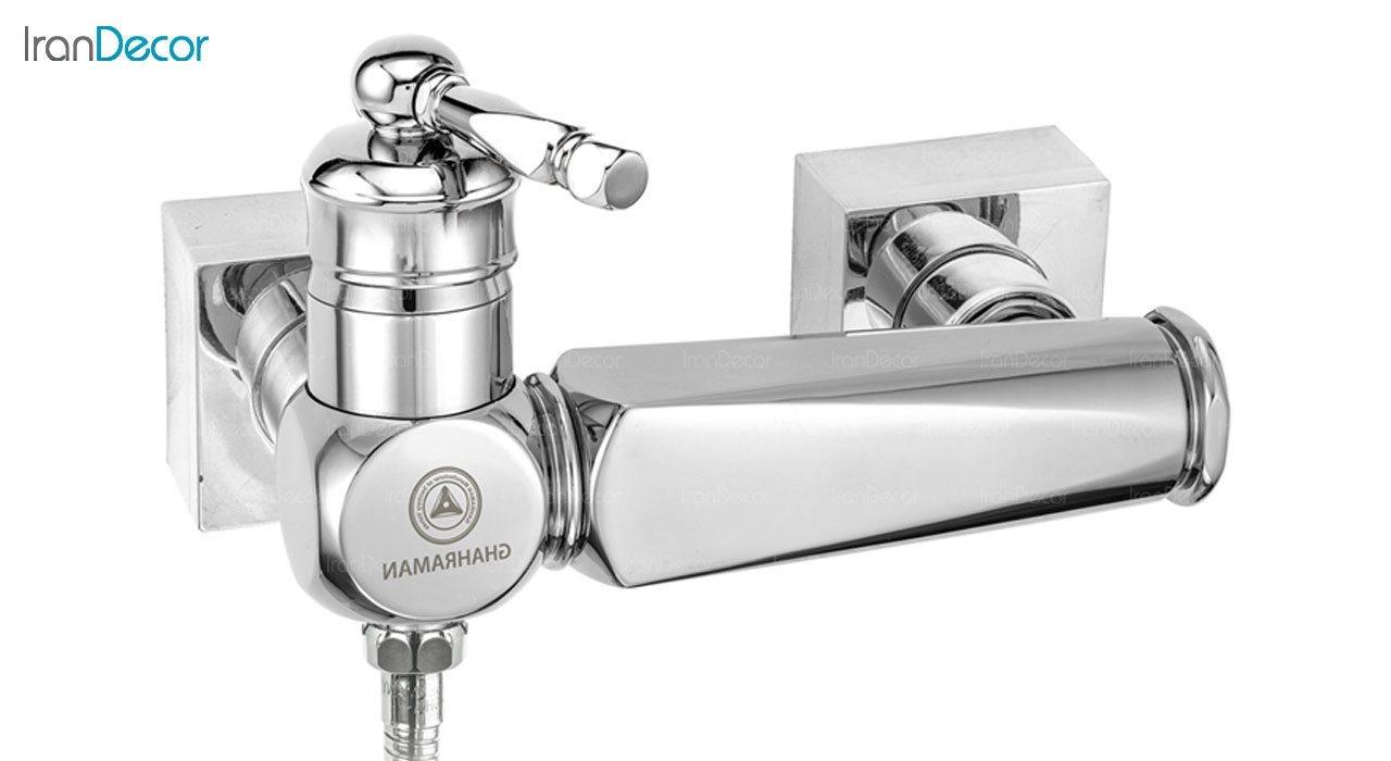تصویر شیر توالت اهرمی قهرمان مدل ارس کد 1000-4-230
