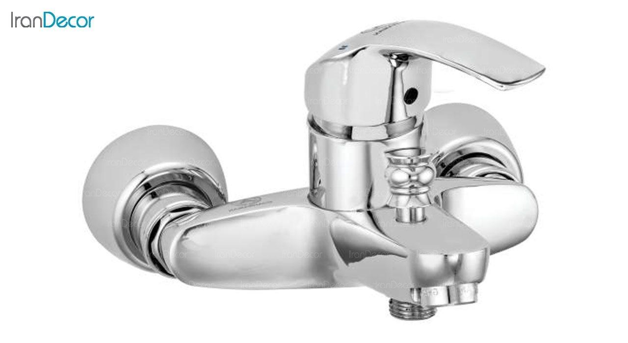تصویر شیر حمام اهرمی قهرمان مدل آلمانی کد 904-1-215