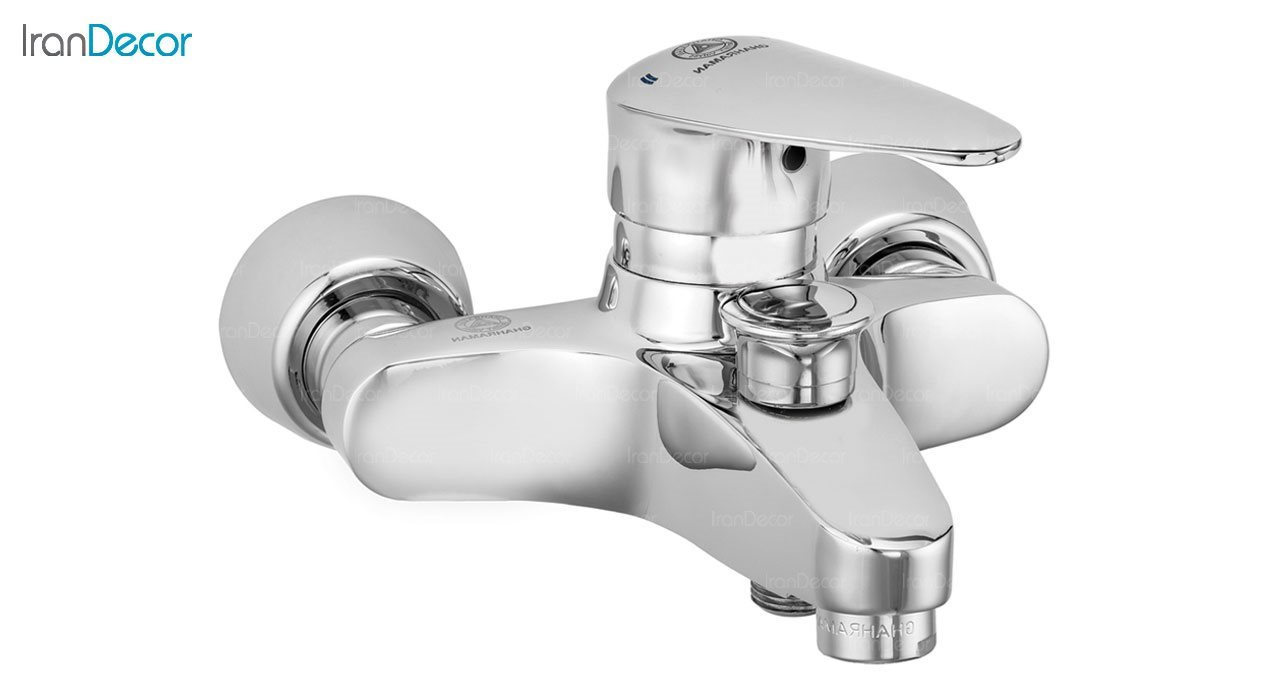 تصویر شیر حمام اهرمی قهرمان مدل سوئیسی کد 905-1-216