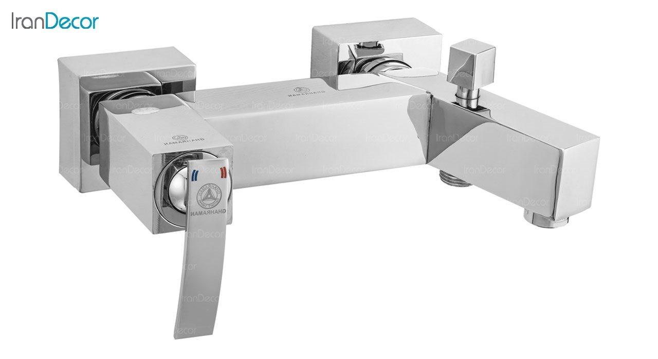 تصویر شیر حمام اهرمی قهرمان مدل صدف کد 915-1-218