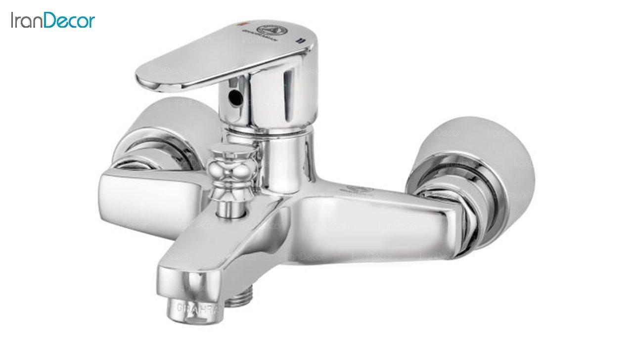 تصویر شیر حمام اهرمی قهرمان مدل سهند کد 1004-1-233