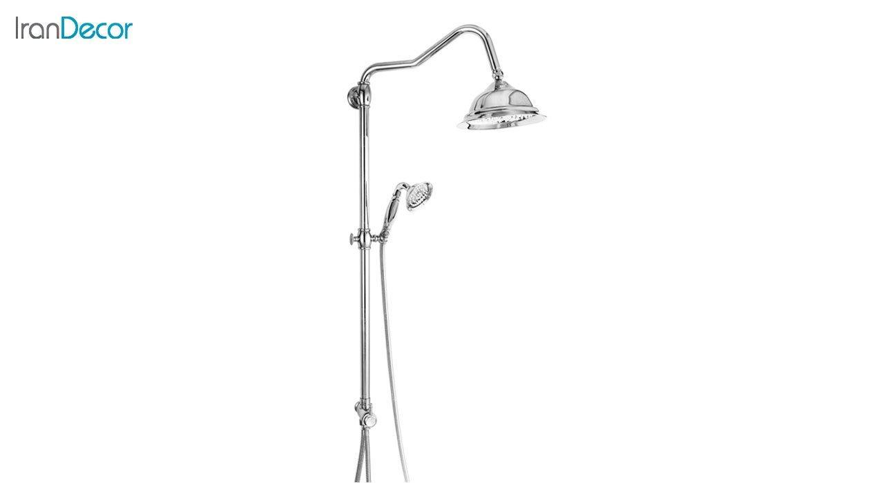تصویر علم دوش حمام دو کاره قهرمان مدل آنتیک