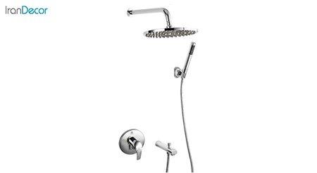 تصویر دوش حمام توکار قهرمان سری A کد 2000-24-A