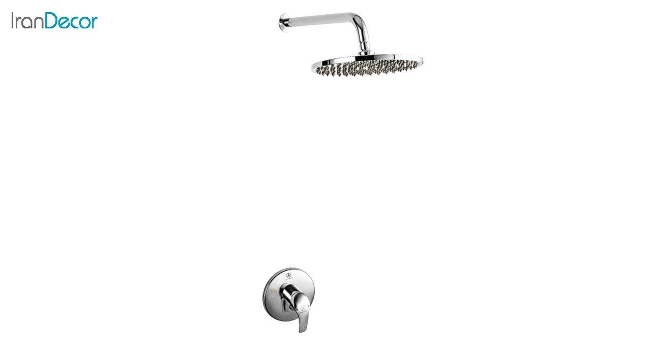 تصویر دوش حمام توکار قهرمان سری D کد 2000-D