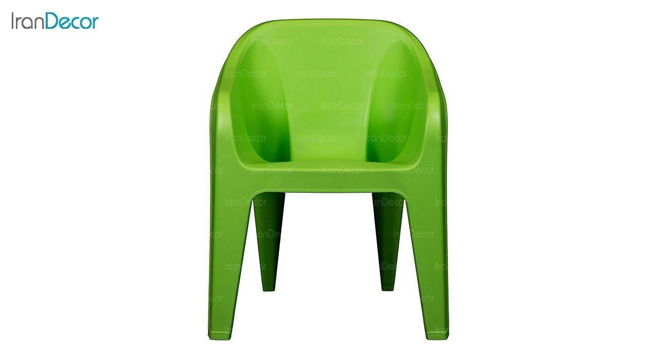 عکس صندلی دسته دار پلاستیکی ناصر پلاستیک مدل 889