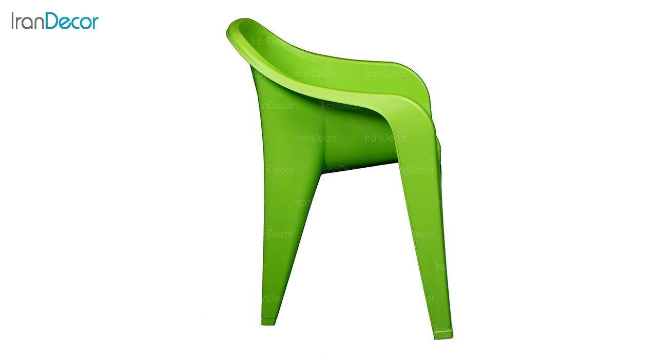 تصویر صندلی دسته دار پلاستیکی ناصر پلاستیک مدل 889
