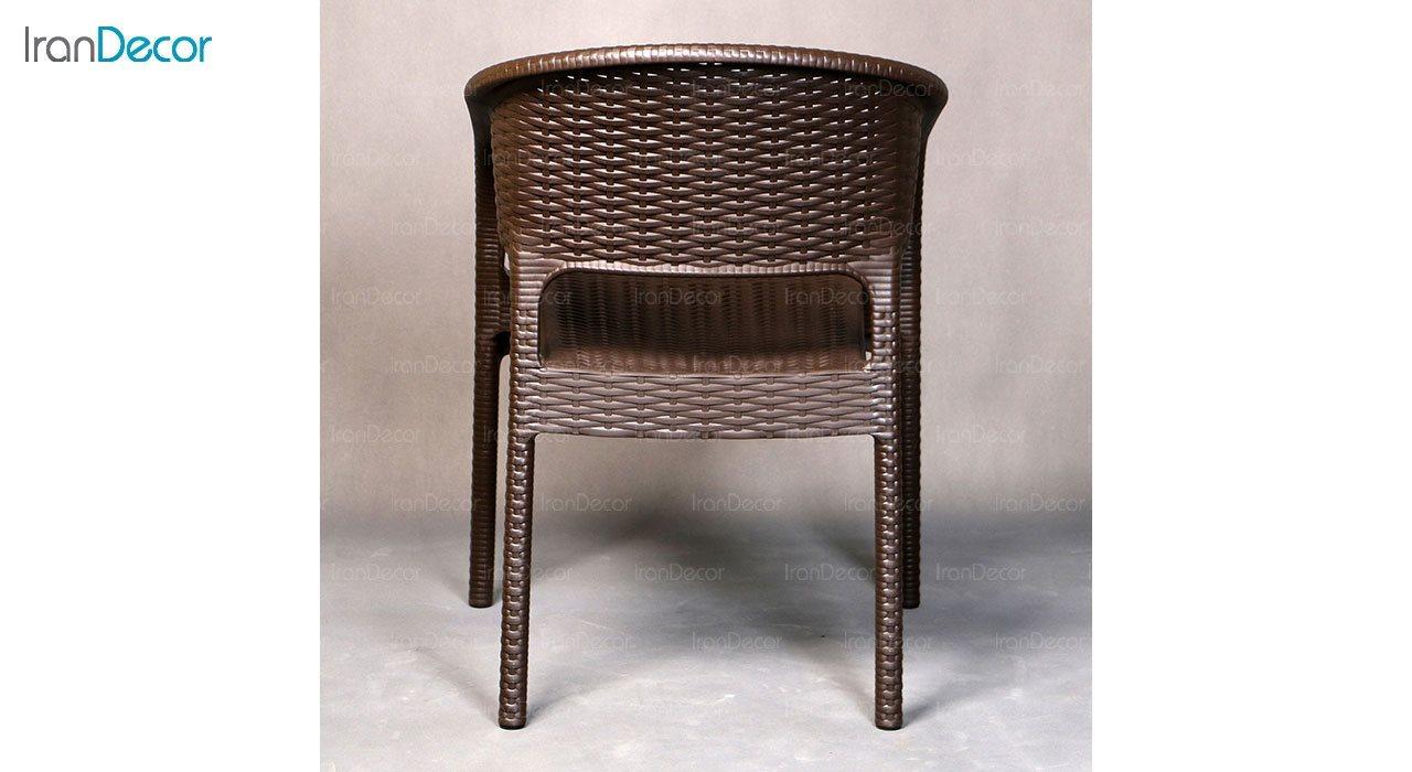 تصویر صندلی پلاستیکی  دسته دار ناصر پلاستیک مدل 992
