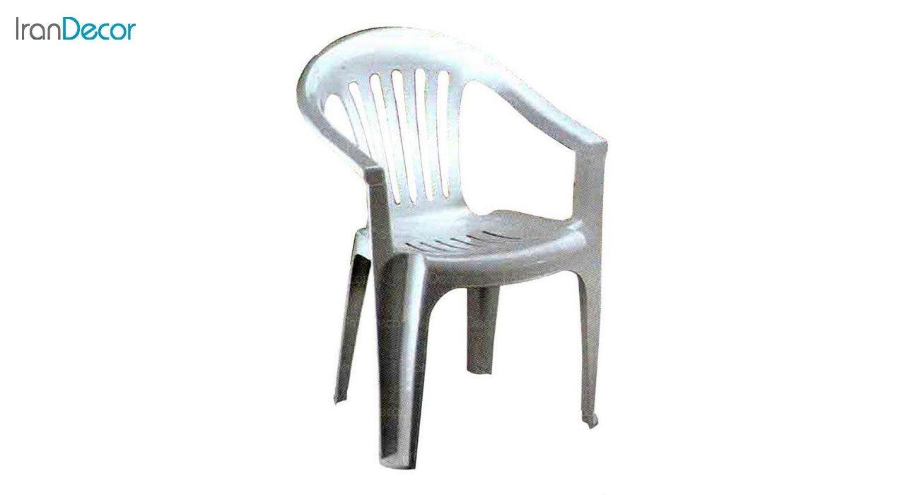 تصویر صندلی پلاستیکی دسته دار ناصر پلاستیک مدل 851