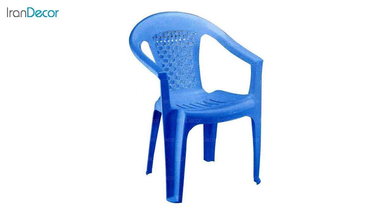 تصویر صندلی پلاستیکی دسته دار ناصر پلاستیک مدل 854
