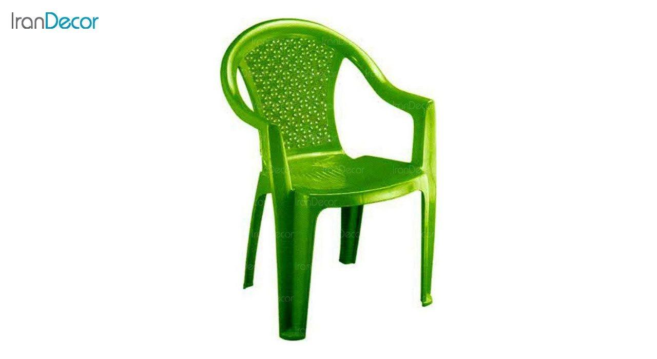 تصویر صندلی پلاستیکی دسته دار ناصر پلاستیک مدل 812