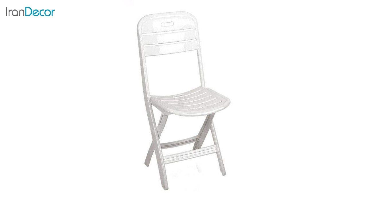 تصویر صندلی پلاستیکی تاشو ناصر پلاستیک مدل 835